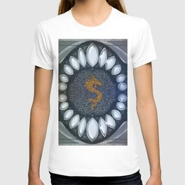 Golden chinese dragon T-shirt