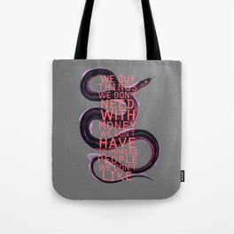 false behavior (variant 2) Tote Bag