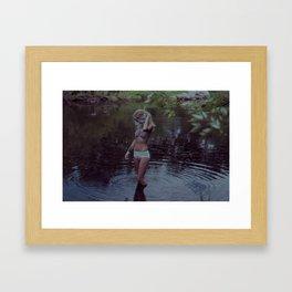 Water graves 1 Framed Art Print