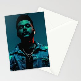 The.Weeknd. portrait Stationery Cards