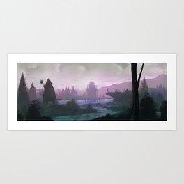 Archers Art Print
