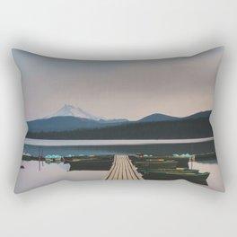 Ollalie Lake - Pacific Crest Trail, Oregon Rectangular Pillow