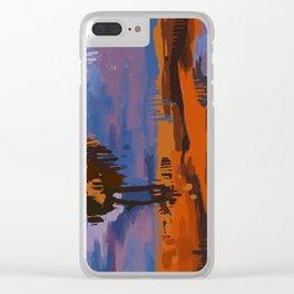 Vertical Landscape Clear iPhone Case