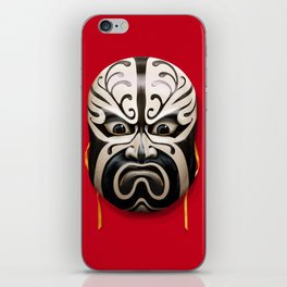 Chinese mask iPhone Skin