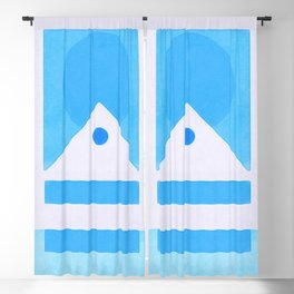 Minimal Ascend Design Blackout Curtain