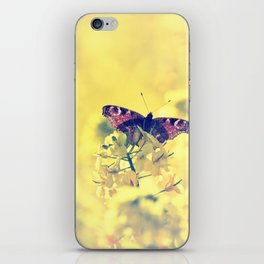 Sunshine and Butterflies iPhone Skin
