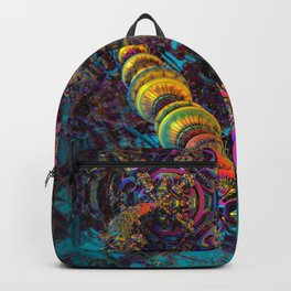 Connecting to the Psychedelic Brain II Backpack