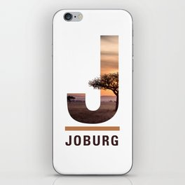 J-oburg iPhone Skin