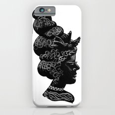 Silhouette of a Lady iPhone 6s Slim Case