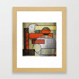 Falling Industrial Framed Art Print