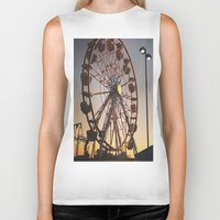 carnival Biker Tanks featuring Carnival by ChaileyCrowdis