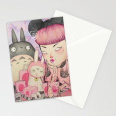 Noodle Eater Stationery Cards