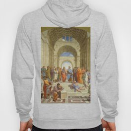 "Raffaello Sanzio da Urbino ""The School of Athens"", 1509-1510 Hoody"