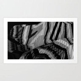 Polylandscape I Art Print