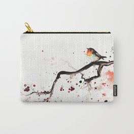 """The tiny wings """"The robin"""" Carry-All Pouch"""