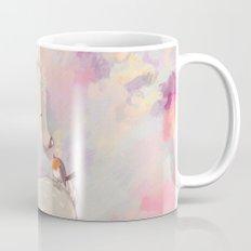 Baby Deer With Bird Watercolor Painting Mug