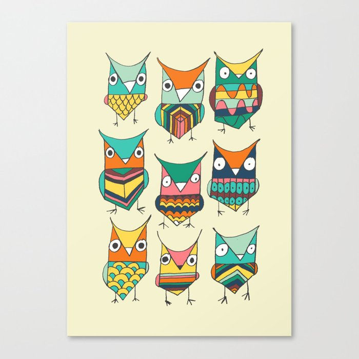 Give a hoot Canvas Print