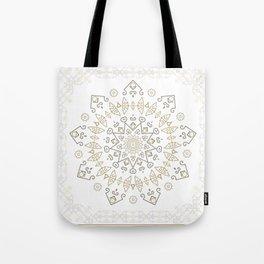 Snow Deco Tote Bag