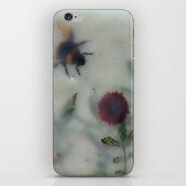 Bee in the Garden (encaustic) iPhone Skin