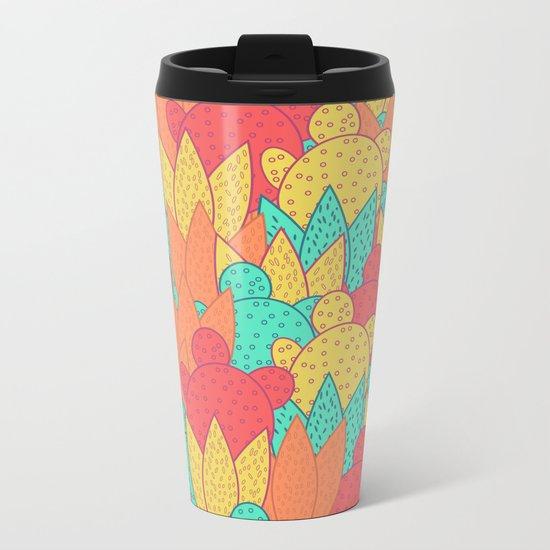 Cactus field Metal Travel Mug