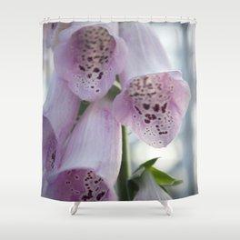 Purple Foxgloves Shower Curtain