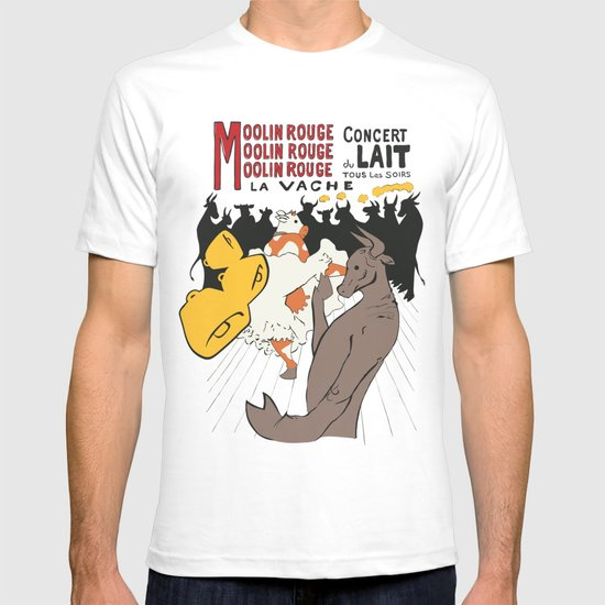Moolin Rouge - This Cow Can Can Can T-shirt