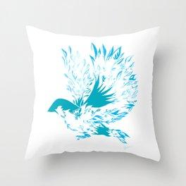 Eye On The Sparrow Throw Pillow