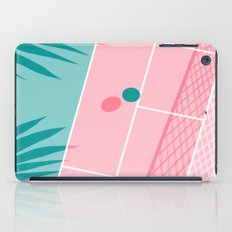 Jock - tennis sport retro neon throwback palm springs los angeles hollywood california sunny pop art iPad Case