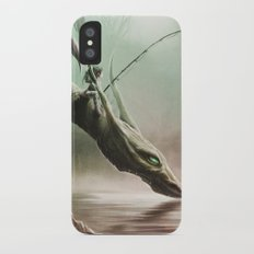 Fishing On The Drinking Dragon iPhone X Slim Case