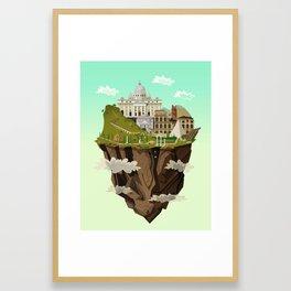 Eternal City Framed Art Print