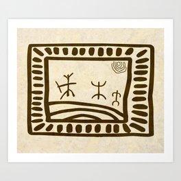 Ethnic 3 Canary Islands Art Print