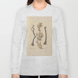 Naturalist Coral Long Sleeve T-shirt