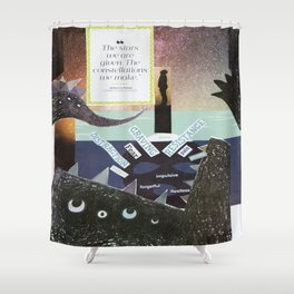 Collage - The Stars We Are Given Shower Curtain