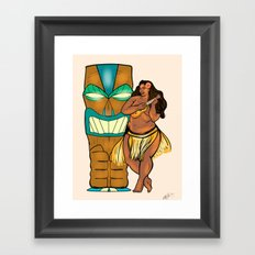 Hula Lula! Framed Art Print
