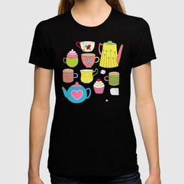 Teapots, cupcakes & more T-shirt