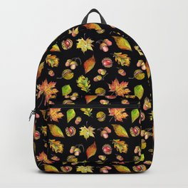 Autumn Forest pattern Backpack