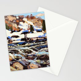 Tom Thomson - The Rapids - Digital Remastered Edition Stationery Cards