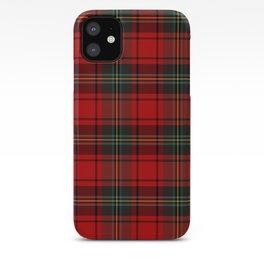 Christmas Tartan Plaid iPhone Case