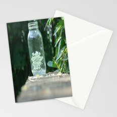 Queen Anne's Lace/Jar w/ bokeh Stationery Cards