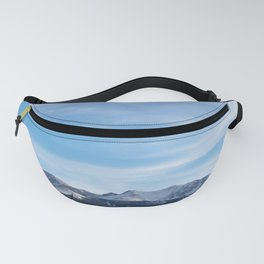 Snow-Covered Pikes Peak Fanny Pack
