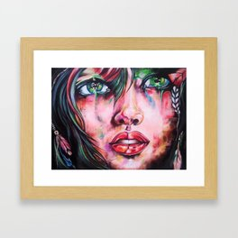 Hip Framed Art Print