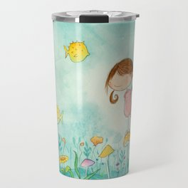 Nora on the Lake Travel Mug