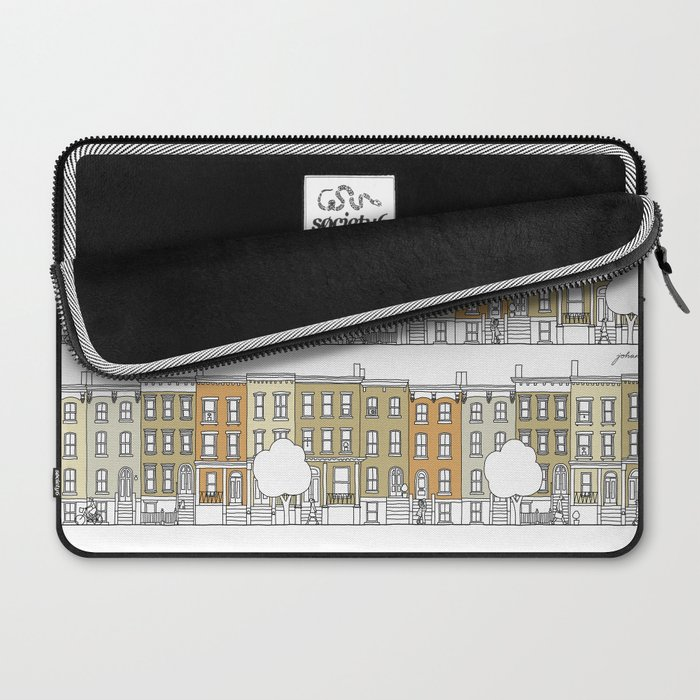 Brooklyn (color) Laptop Sleeve