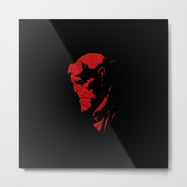 hell boy Metal Print