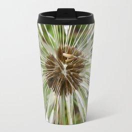 Dandelion In The Rain Travel Mug
