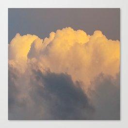 Walking on cloud 9 Canvas Print