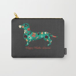 Happy Hallo-Weenie Carry-All Pouch