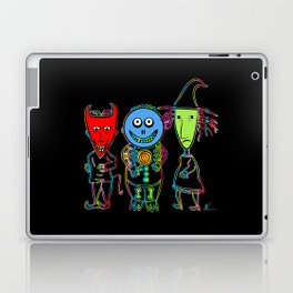 Lock, Shock, Barrel | Pop Art Laptop & iPad Skin