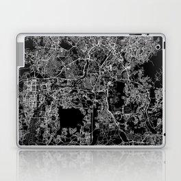 Kuala Lumpur Black Map Laptop & iPad Skin