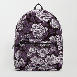 sempervivum-pattern Backpack